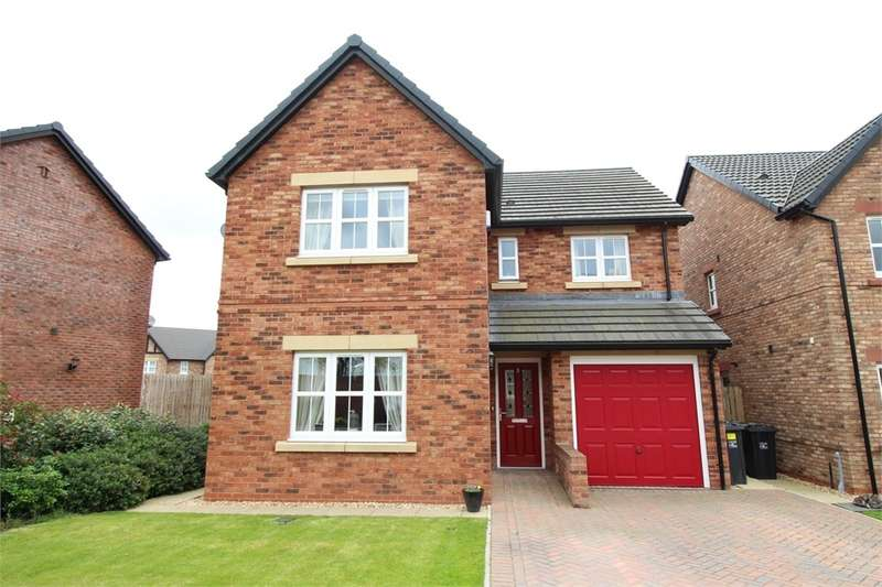 4 Bedrooms Detached House for sale in CA6 4FA Kinmont Way, Kingstown, Carlisle, Cumbria