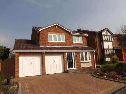 4 Bedrooms Detached House for sale in Purbeck Drive, West Bridgford, Nottingham