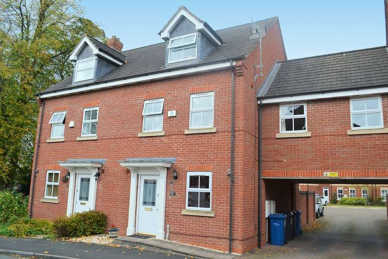 4 Bedrooms Town House for sale in Selwyn Road, Burntwood