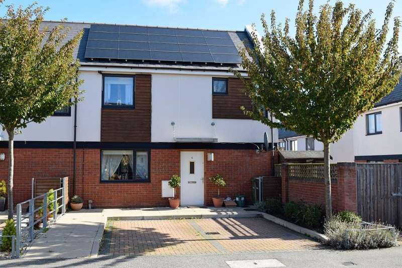 3 Bedrooms End Of Terrace House for sale in Warne Avenue, Braintree, Essex, CM7 5FE