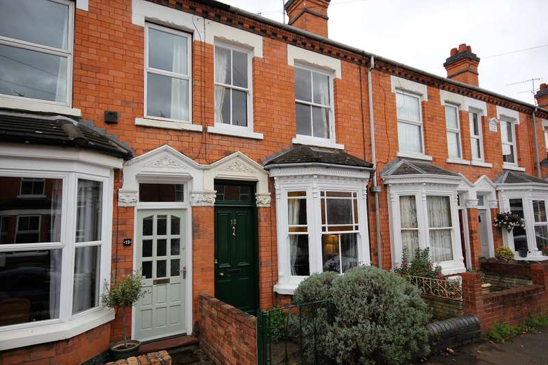 2 Bedrooms Terraced House for sale in Shrubbery Road, Worcester, WR1