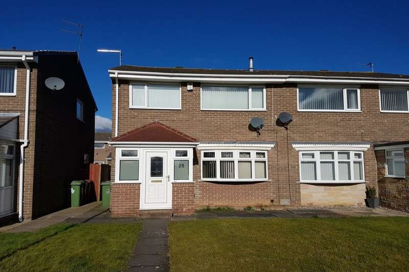 3 Bedrooms Semi Detached House for sale in Chacombe, Washington, NE38