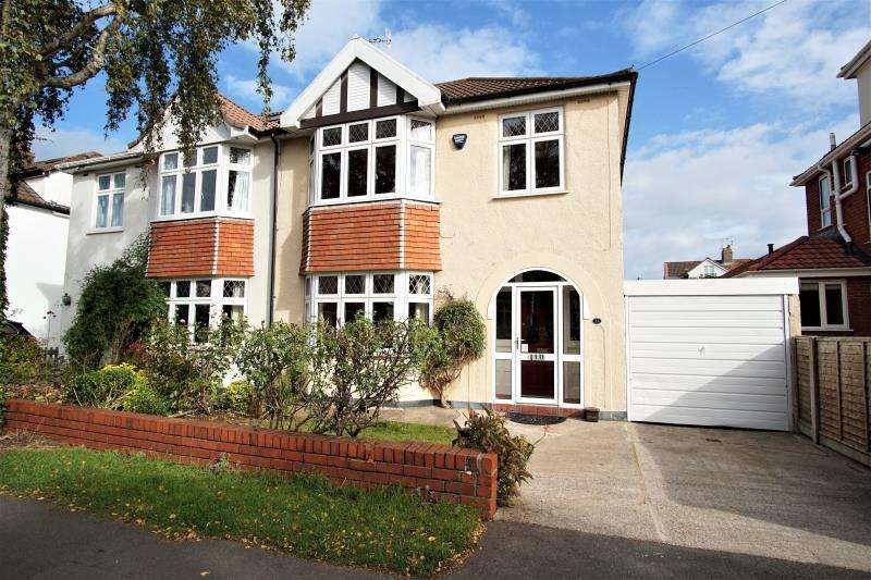3 Bedrooms Semi Detached House for rent in Stoke Grove, Westbury On Trym, Bristol, BS9 3SB