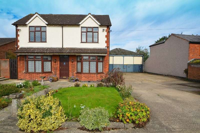 3 Bedrooms Detached House for sale in Coventry Road, Thurlaston, Rugby