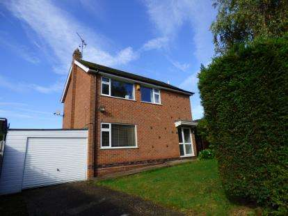 3 Bedrooms Detached House for sale in Edale Rise, Toton, Nottingham