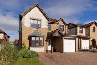 4 Bedrooms Detached House for sale in Ranfurly Drive, Cumbernauld, Glasgow, North Lanarkshire