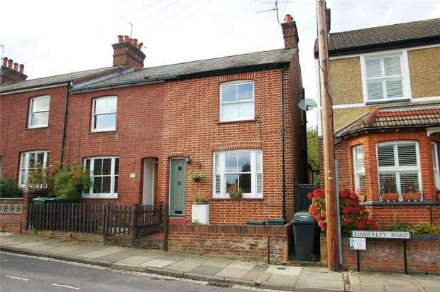 3 Bedrooms End Of Terrace House for sale in Kimberley Road, St Albans, Hertfordshire