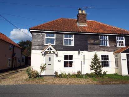 2 Bedrooms Semi Detached House for sale in Colkirk, Fakenham