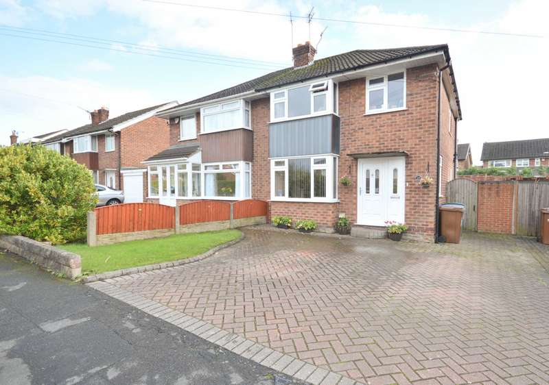 3 Bedrooms Semi Detached House for sale in BRISBANE CLOSE, Bramhall