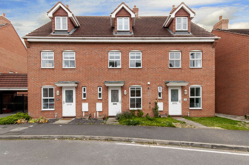 3 Bedrooms Town House for sale in Glover Road, Castle Donington