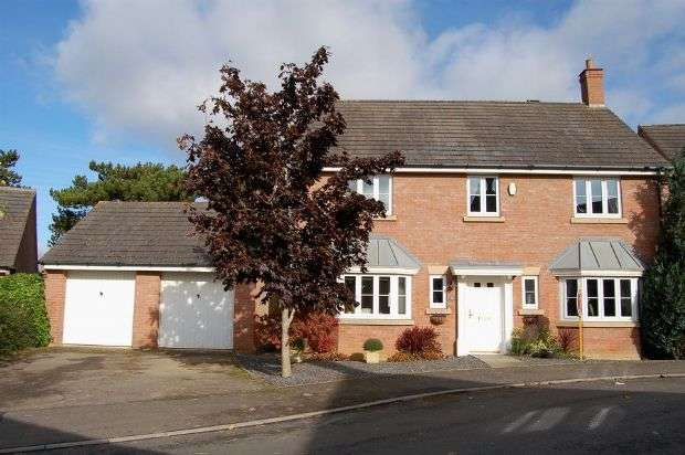 4 Bedrooms Detached House for sale in North Meadow View, Duston, Northampton NN5 4UD