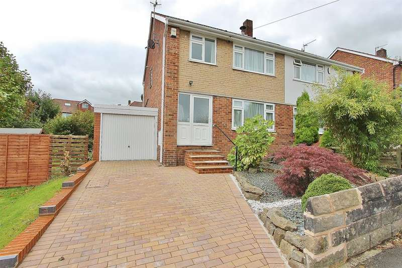 3 Bedrooms Semi Detached House for sale in Greystones Road, Greystones, Sheffield, S11 7BT