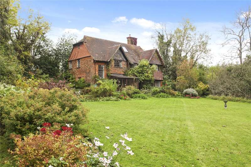 6 Bedrooms Detached House for sale in Westwood Lane, Wanborough, Guildford, Surrey, GU3
