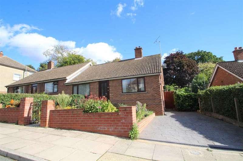 2 Bedrooms Semi Detached Bungalow for sale in Tuddenham Avenue, Ipswich