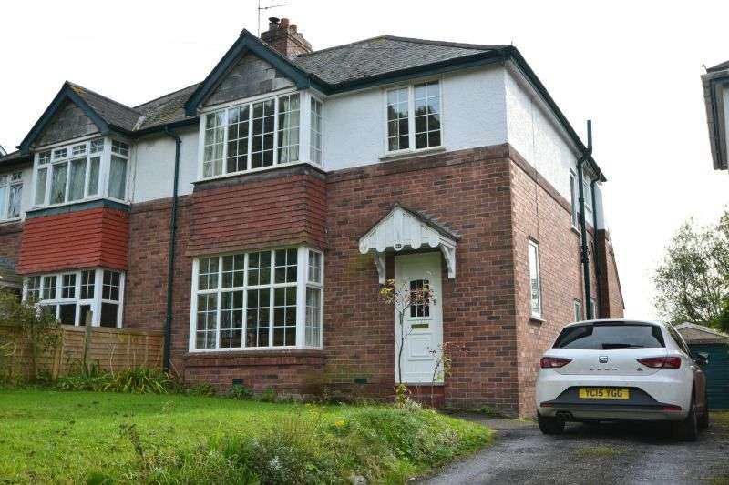 4 Bedrooms Semi Detached House for sale in TOPSHAM ROAD, ST LEONARDS, EXETER, DEVON