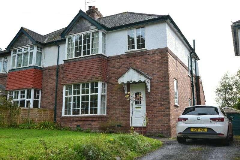 4 Bedrooms Semi Detached House for sale in TOPSHAM ROAD, ST LEONARDS, EXETER, DEVON