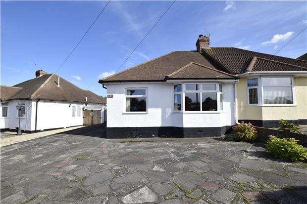 2 Bedrooms Semi Detached Bungalow for sale in Kynaston Road, ORPINGTON, Kent, BR5 4JY