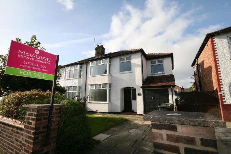 4 Bedrooms Semi Detached House for sale in Mallee Crescent, Churchtown, Southport, PR9 8NJ