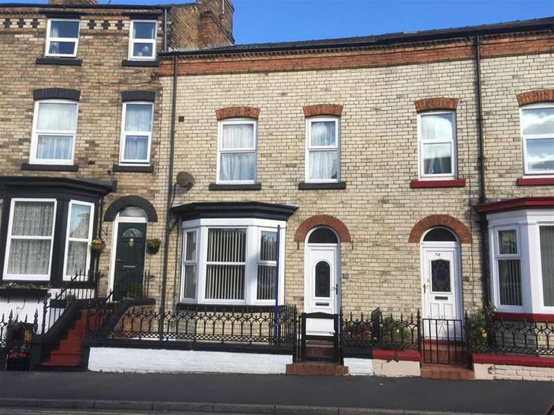 2 Bedrooms Terraced House for sale in Tindall Street, Scarborough, YO12 7EE