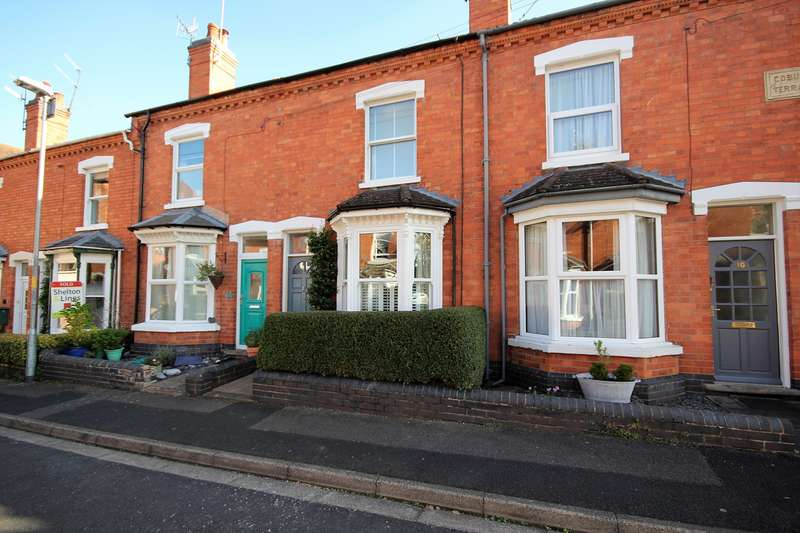 2 Bedrooms Terraced House for sale in Ashcroft Road, Worcester, WR1