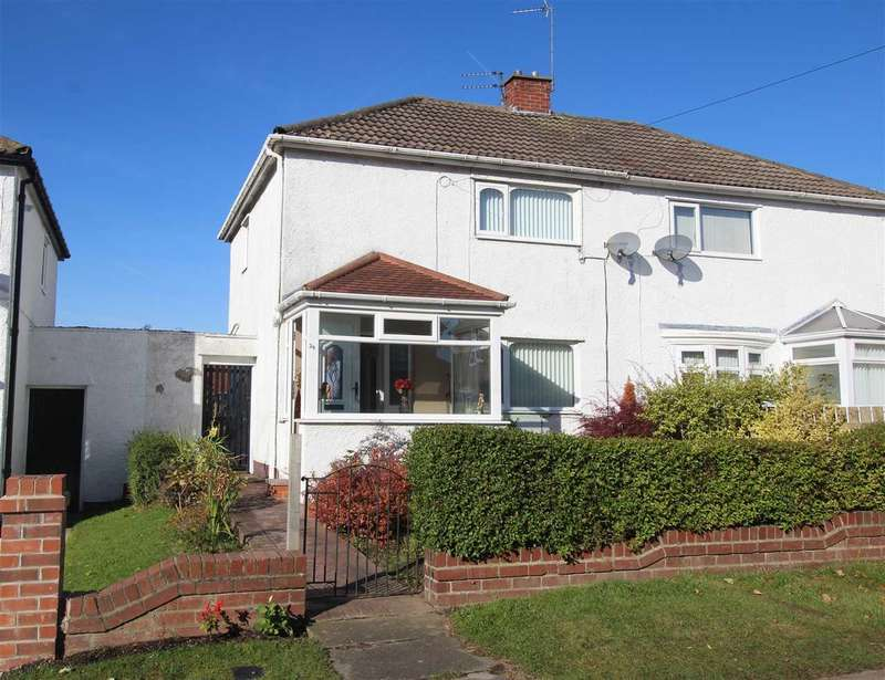2 Bedrooms Semi Detached House for sale in Chipchase Avenue, Mayfield Glade, Cramlington