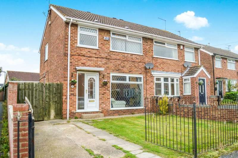 3 Bedrooms Semi Detached House for sale in Grenville Bay, Bilton, Hull, HU11