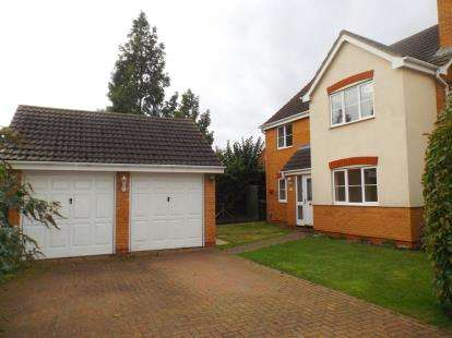 4 Bedrooms Detached House for sale in Lidgate Close, Peterborough, Cambridgeshire