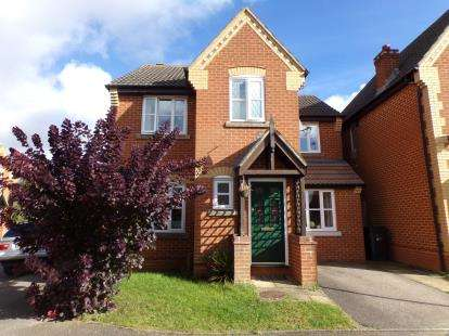 3 Bedrooms Detached House for sale in Hanover Drive, Brackley, Northamptonshire
