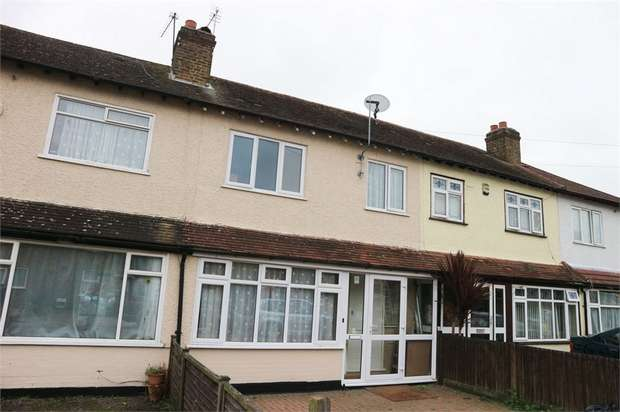 3 Bedrooms Terraced House for sale in Nellgrove Road, Uxbridge, Greater London