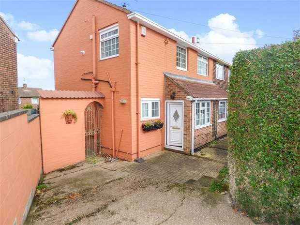 3 Bedrooms Semi Detached House for sale in Brackensdale Avenue, Derby