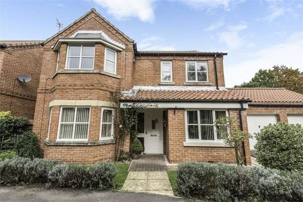 4 Bedrooms Detached House for sale in Thornton Close, Bilsthorpe, Newark, Nottinghamshire