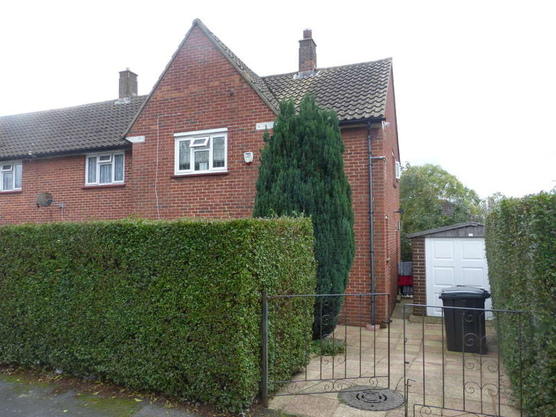 2 Bedrooms End Of Terrace House for sale in Redstart Close, New Addington, Croydon CR0