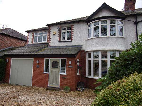 4 Bedrooms Semi Detached House for sale in Altrincham Road, Gatley, Cheshire