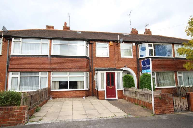 3 Bedrooms Terraced House for sale in Harewood Avenue, Normanton, WF6