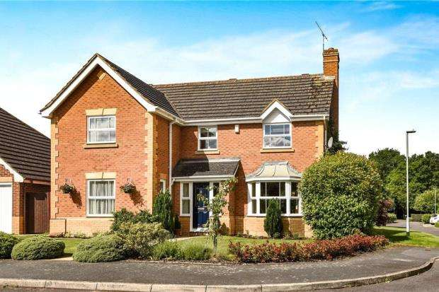 6 Bedrooms Detached House for sale in Lindberg Way, Woodley, Reading