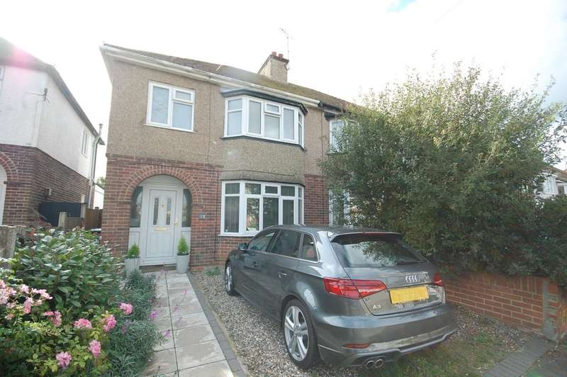 3 Bedrooms Semi Detached House for sale in Gorrell Road, Whitstable