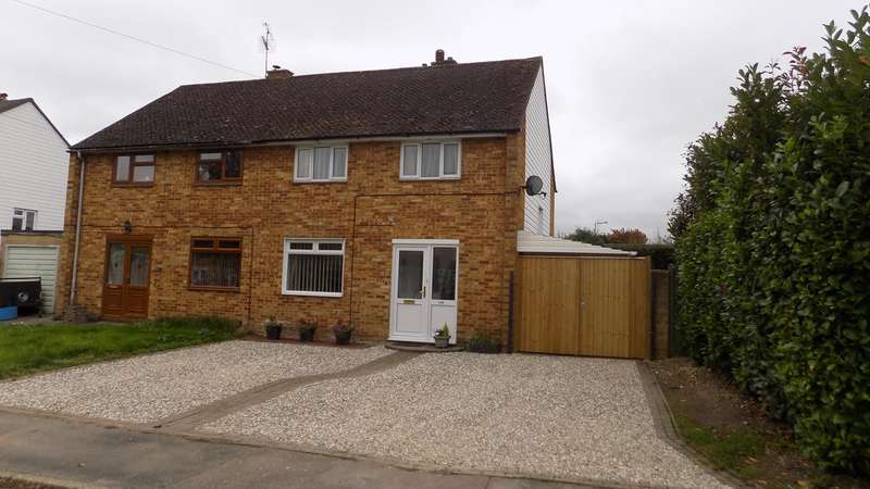 3 Bedrooms Semi Detached House for sale in Franklin Avenue, Tadley, RG26