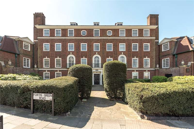 3 Bedrooms Flat for sale in Fortis Court, Fortis Green Road, London, N10