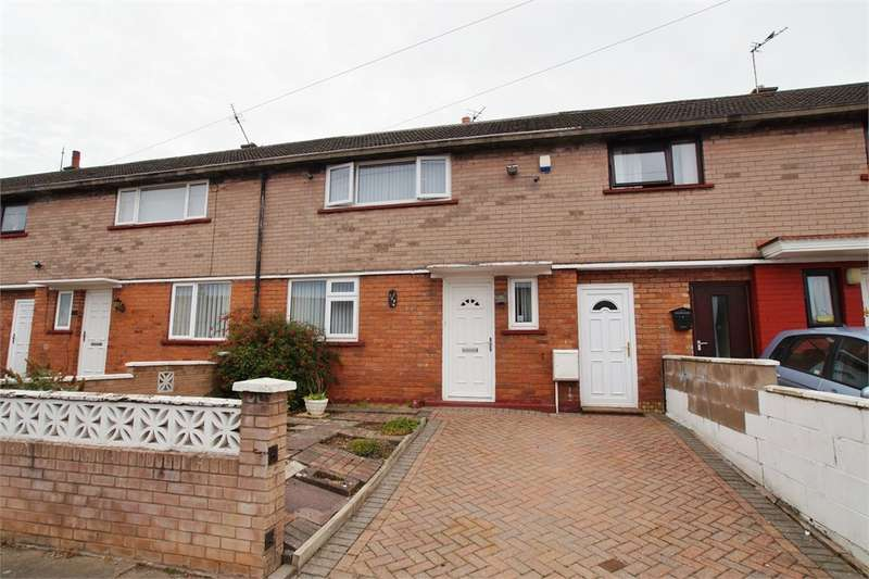 2 Bedrooms Terraced House for sale in CA1 3RZ Beverley Rise, CARLISLE, Cumbria