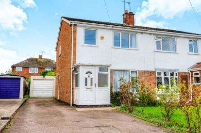 3 Bedrooms Semi Detached House for sale in Morse Road, Whitnash, Leamington Spa, Warwickshire