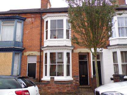 2 Bedrooms Terraced House for sale in Barclay Street, Leicester, Leicestershire, England
