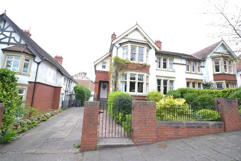 4 Bedrooms Semi Detached House for sale in Linden Avenue, Penylan, Cardiff, CF23