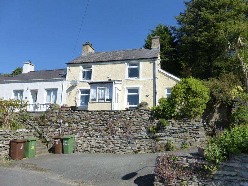 3 Bedrooms Semi Detached House for sale in Talysarn