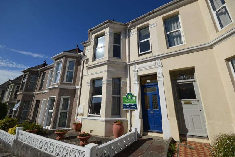 1 Bedroom Flat for sale in Westbourne Road, Peverell, Plymouth, PL3