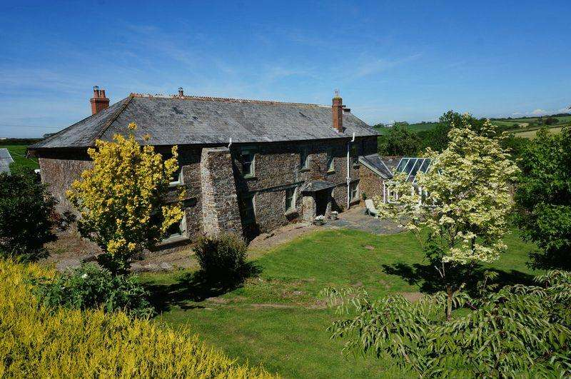5 Bedrooms Farm House Character Property for sale in Boyton, Launceston