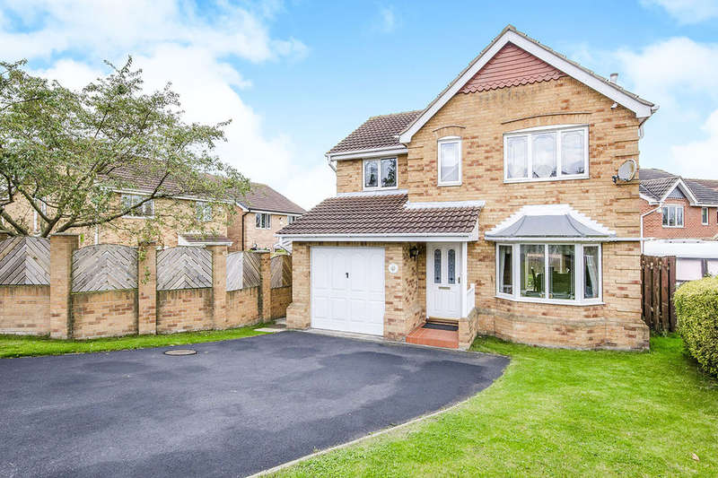 4 Bedrooms Detached House for sale in Chestnut Close Featherstone, PONTEFRACT, WF7