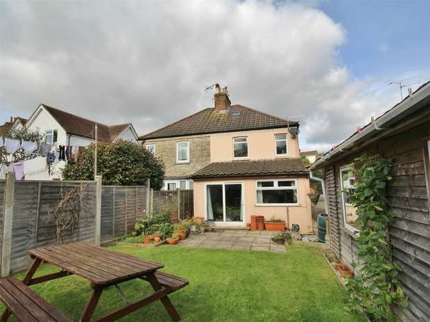 3 Bedrooms Semi Detached House for sale in New Road, Parkstone, Poole, Dorset