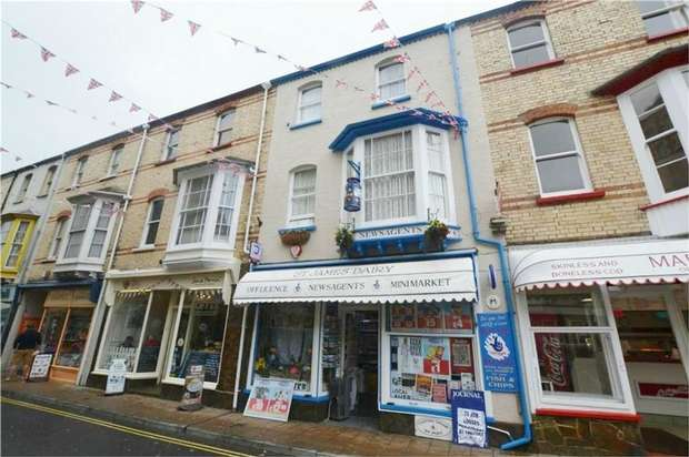 3 Bedrooms Commercial Property for sale in 24 St James Place, ILFRACOMBE, Devon