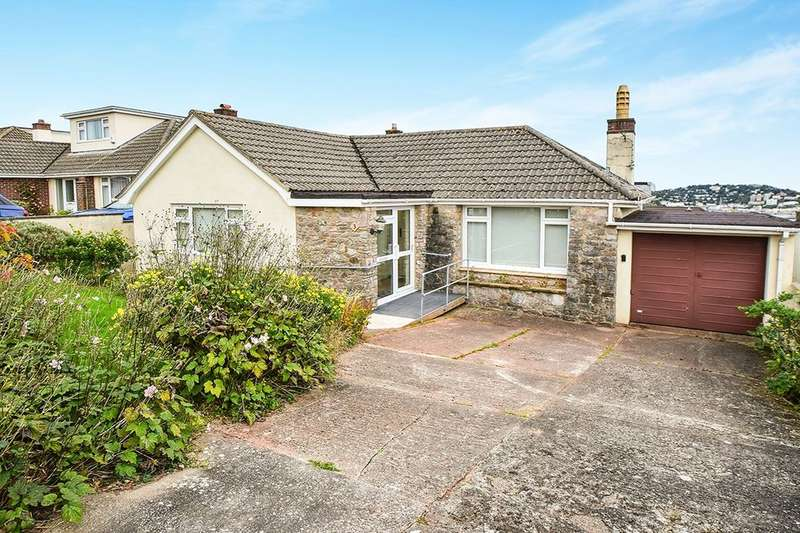 2 Bedrooms Detached Bungalow for sale in Lady Park Road, Torquay, TQ2