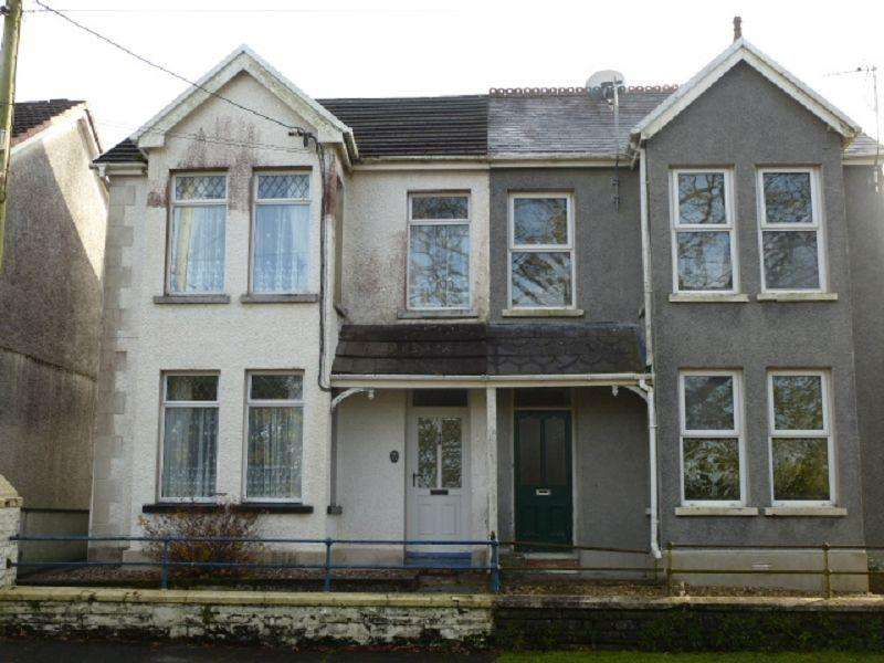 3 Bedrooms Semi Detached House for sale in Bethesda Road, Tumble, Llanelli, Carmarthenshire.